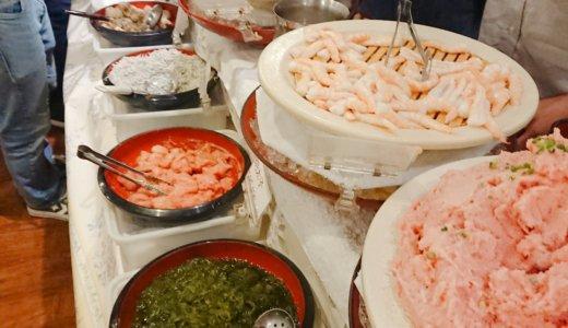 【馬喰町】海鮮充実!たいこ茶屋のコスパ最高食べ放題ランチに行ってきた